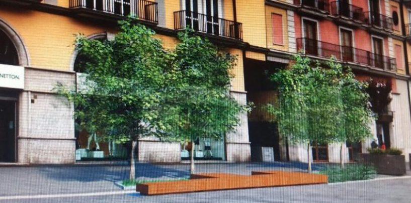 """Corso Vittorio Emanuele diventa più """"green"""", nel nome di ambiente e salute"""