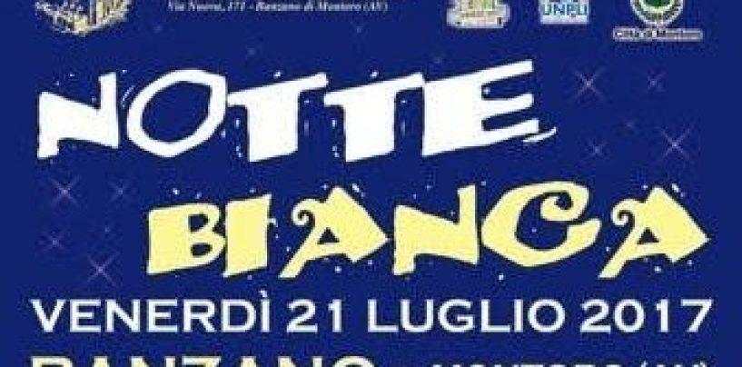 """Tutto pronto per la """"Notte Bianca"""" a Banzano di Montoro"""