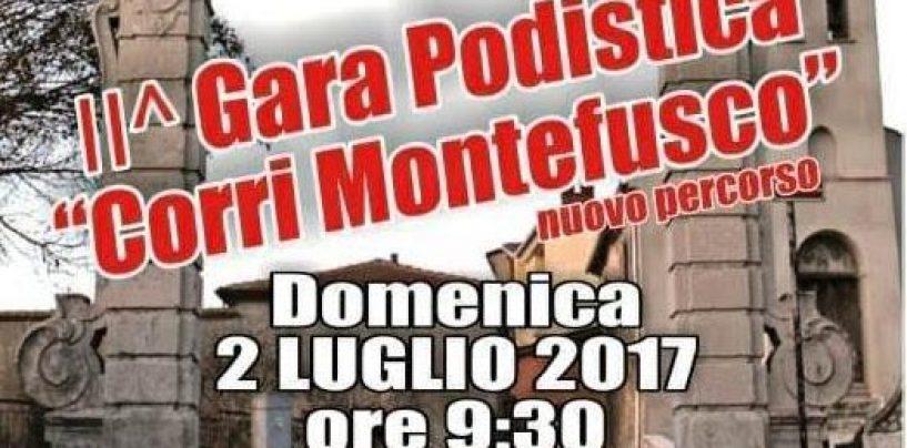 """Al via la seconda edizione della gara podistica """"Corri Montefusco"""""""