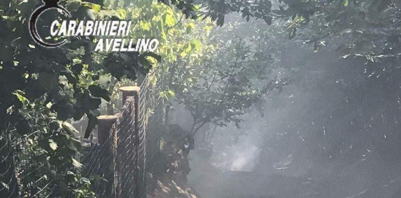 Ancora otto persone denunciate dai carabinieri per combustioni illecite