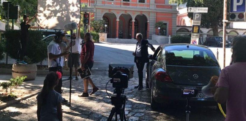 Il cinema italiano arriva in Irpinia, si gira lungo il viale di Mercogliano