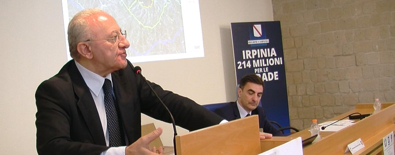 """Piano """"Sblocca opere"""", la Regione stanzia 21 milioni per 116 enti dell'Irpinia"""