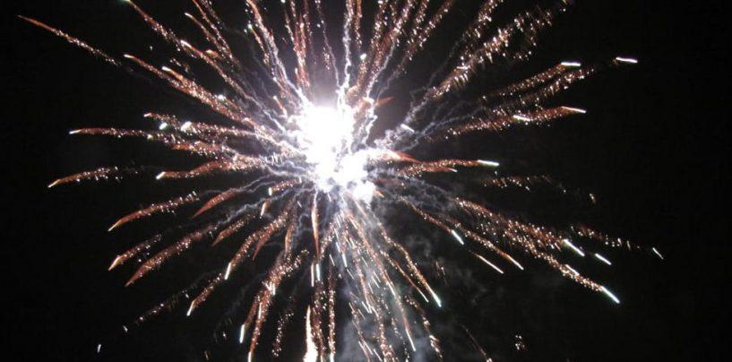 Fuochi d'artificio non autorizzati, scattano le denunce
