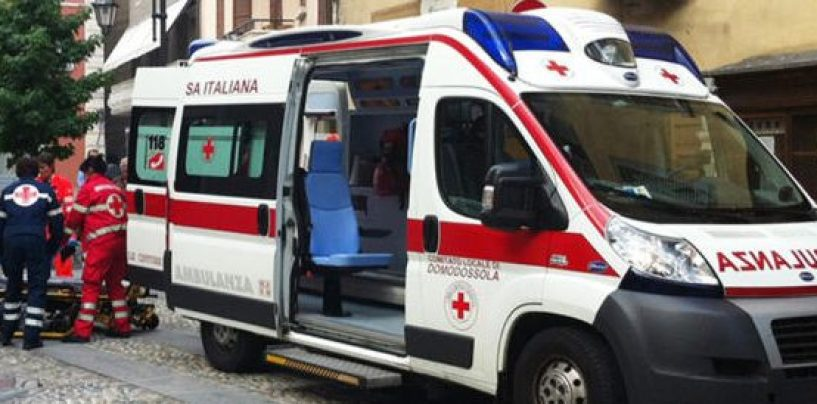 Dramma ad Avellino, anziano precipita dal terzo piano e muore sul colpo