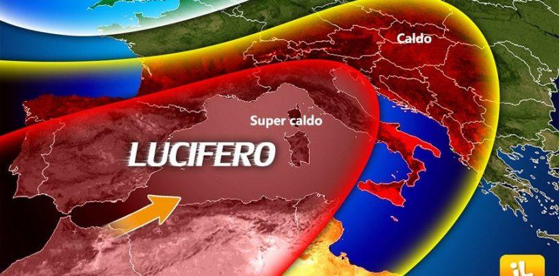"""I 40° di """"Lucifero"""" si abbattono sull'Irpinia, picco di calore ad Atripalda"""