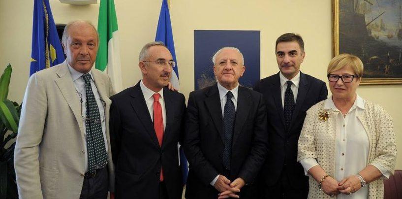Titolata a Francesco De Sanctis la nuova Sala della Giunta Regionale