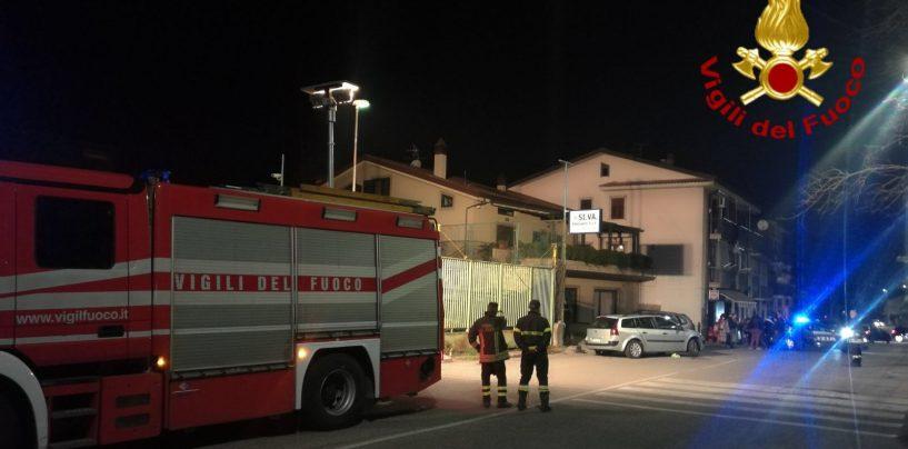 Incidente nella notte a Pianodardine, due i feriti