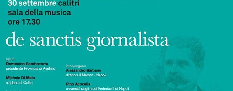 Bicentenario Francesco De Sanctis, confronto a Calitri