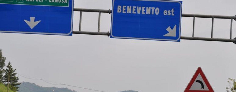 """Lavori alla galleria """"Montemiletto"""": per due notti chiude il tratto Benevento-Avellino est dell'A16"""
