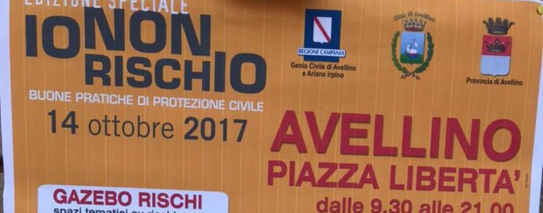"""""""Io non rischio"""", sabato volontari in piazza ad Avellino"""