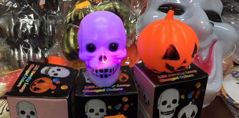 Halloween sicuro, maxi sequestro di prodotti asiatici irregolari
