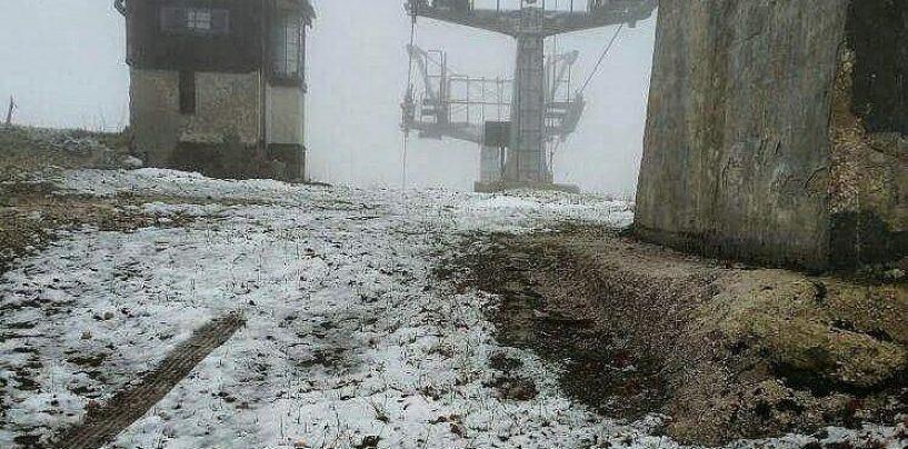 Prima neve sui monti irpini, la stagione invernale è alle porte