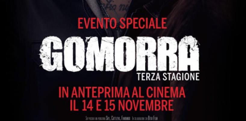 Gomorra 3 in anteprima nei cinema, anche ad Avellino