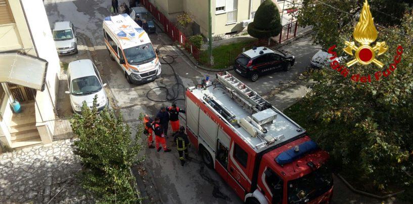 Tragedia in provincia di Avellino, muore avvolta dalle fiamme