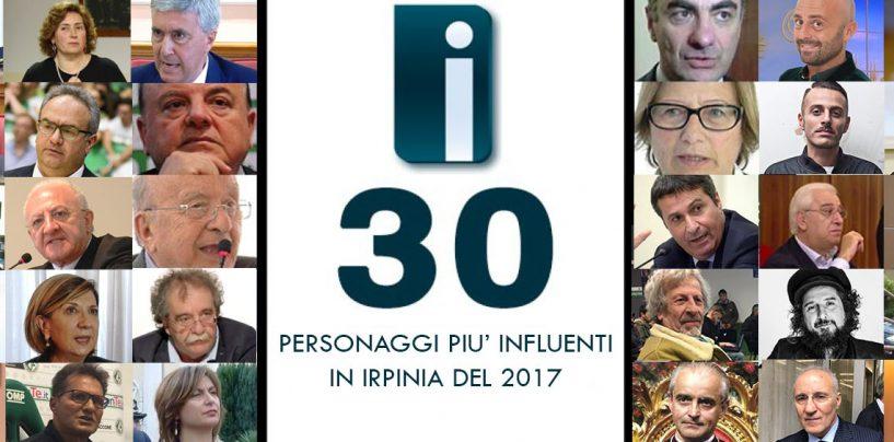 SPECIALE/ I 30 personaggi più influenti del 2017 secondo Irpinianews