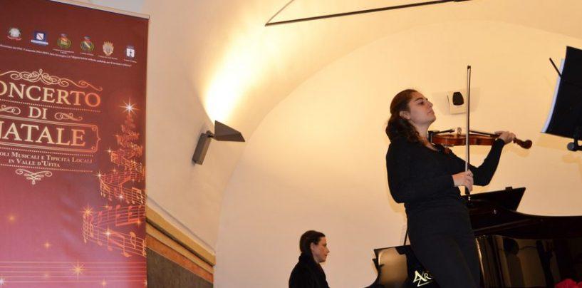 """Musica e prodotti tipici per il """"Concerto di Natale"""", grande partecipazione a Bonito"""