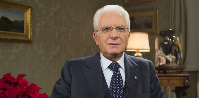 Il Presidente della Repubblica Sergio Mattarella scioglie le Camere