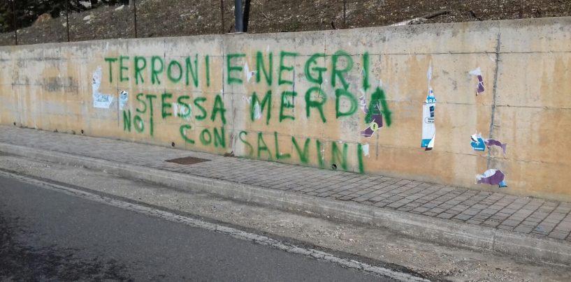 """Scritte razziste in Irpinia, Noi con Salvini: """"Estranei alla vicenda, prenderemo provvedimenti"""""""