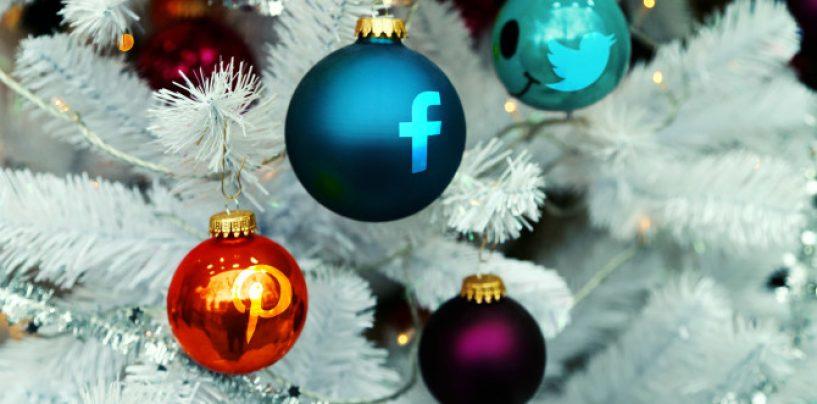 Natale 2017: il nuovo volto delle festività, 8 campani su 10 le vivranno sui social media