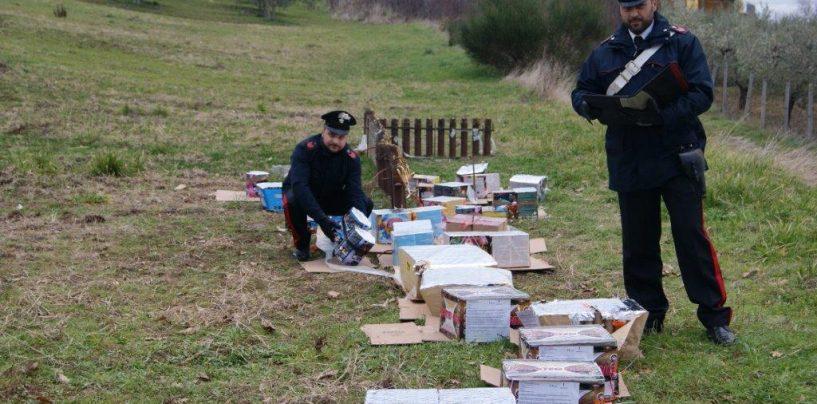 Benevento, sequestrati 400Kg di fuochi d'artificio prima della mezzanotte