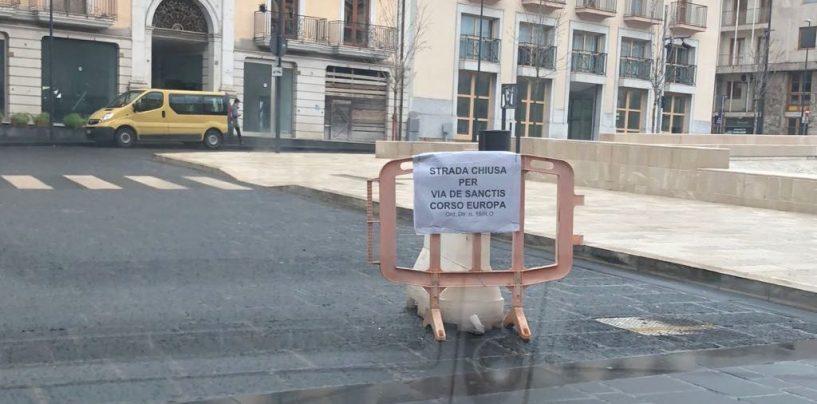 Lavori a Piazza Libertà: come cambia il traffico in Via De Sanctis