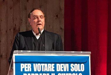 Mastella ad Ariano Irpino per l'inaugurazione della sede elettorale Noi Campani