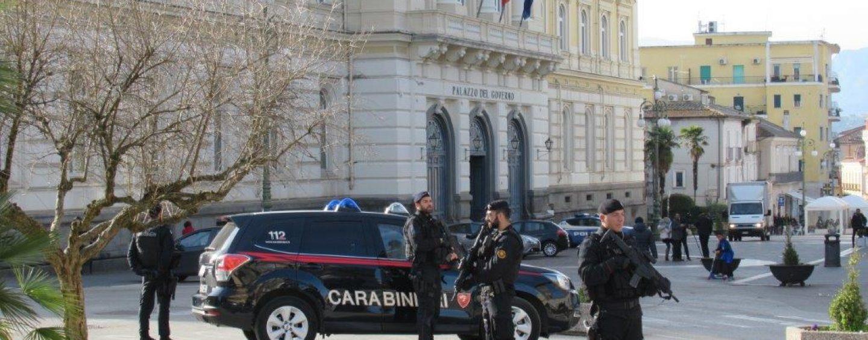 Benevento, arrivano in città le squadre antiterrorismo dell'Arma