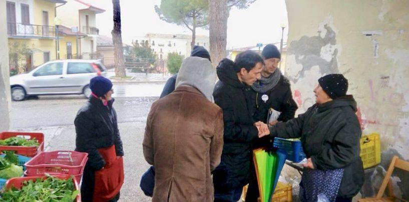 """Maraia tra la gente: """"De Mita deve rispettare l'elettorato e non denigrare la popolazione di Ariano"""""""