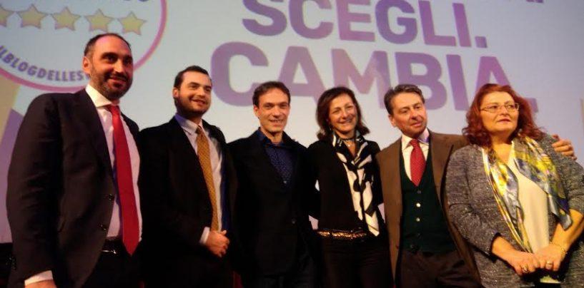 FOTO/ M5S, i candidati irpini presentati nella kermesse regionale a Napoli