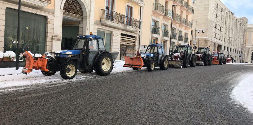 """Burian, Preziosi: """"Nevicata di oggi inaspettata, ma stiamo ripulendo la città"""""""