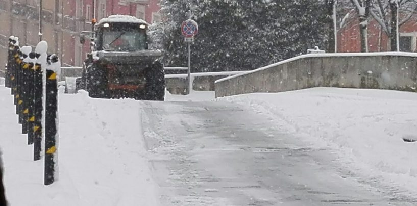 Nevica ad Ariano e in Alta Irpinia. In arrivo nuova ondata di gelo