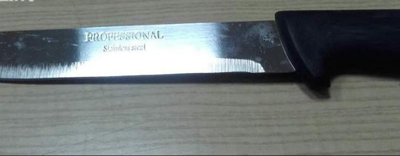 Nascondeva un coltello nel suo autocarro: 51enne deferito