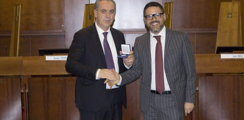 Fisciano: lectio magistralis dell'On. Giovanni Legnini, Vice Presidente del Consiglio Superiore della Magistratura