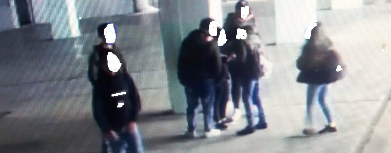 """Raid vandalico nel parcheggio ad Ariano, il """"branco"""" tradito dalle telecamere"""