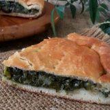 Pizza con l'erba, la ricetta della regina della tavola di Pasqua avellinese