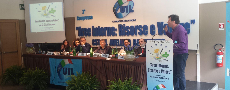 Congresso Uil, confermato Simeone alla guida del sindacato