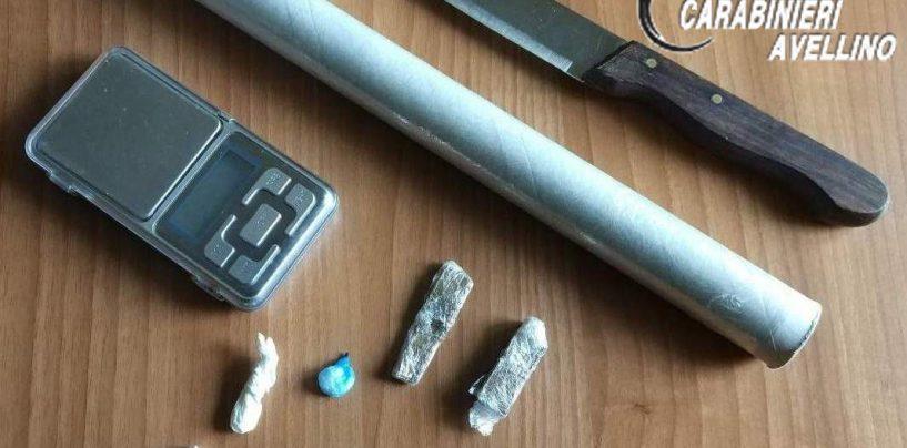 Cocaina negli slip e bilancino in camera da letto: arrestato 38enne