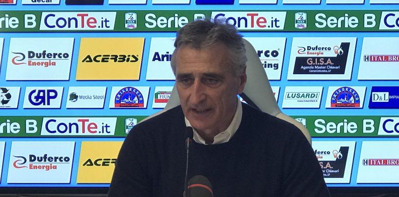 """Virtus Entella-Avellino 1-1, Foscarini: """"Piaciuta l'interpretazione della gara"""""""