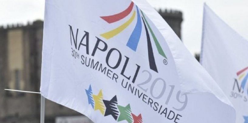 Universiadi, la cerimonia di chiusura al San Paolo di Napoli: anche il premier Conte
