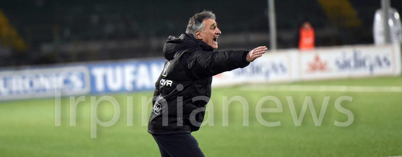 """Avellino-Perugia 2-0, Foscarini cancella Novellino: """"Ora viene il difficile"""""""