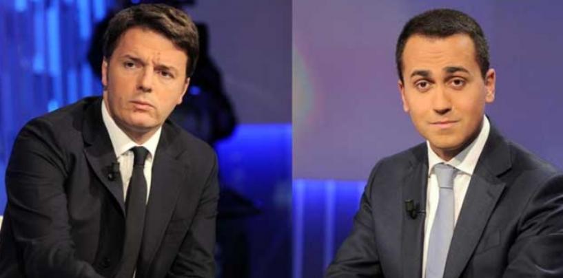 """Renzi dice no ad un Governo M5S-Pd. Di Maio: """"Solo ego smisurato, si torni al voto"""""""