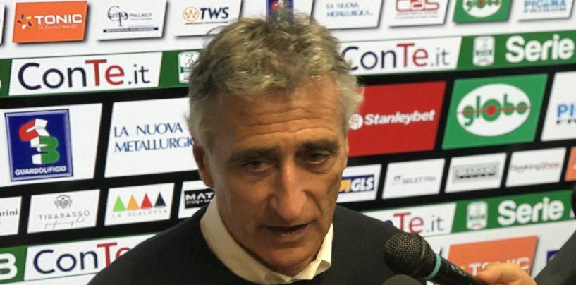 """Ascoli-Avellino 1-1. Foscarini: """"Che peccato il gol preso a fine primo tempo"""""""