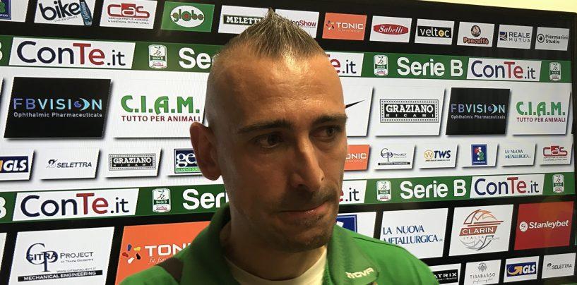 """Ascoli-Avellino 1-1. Castaldo: """"Abbiamo reagito alla contestazione"""""""