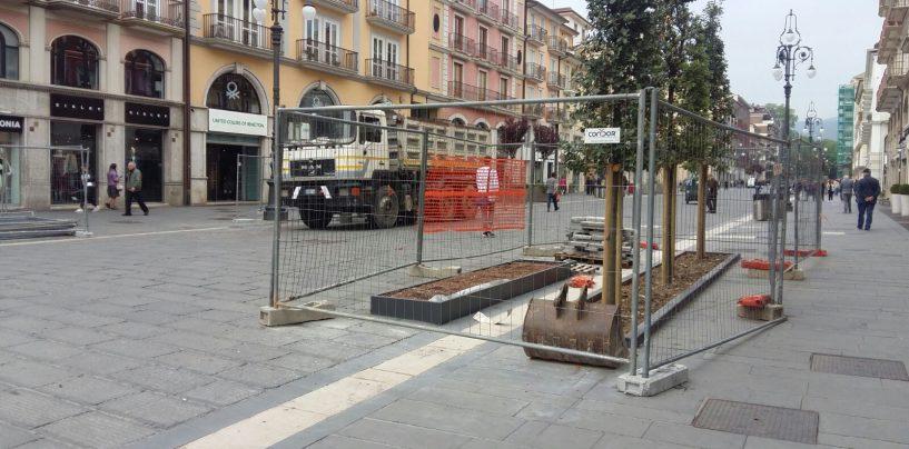 Corso Vittorio Emanuele, entro un mese la città avrà il nuovo arredo urbano