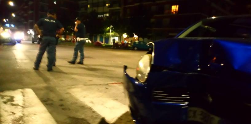 Incidente tra due auto in via Cannaviello: coinvolto anche un bambino