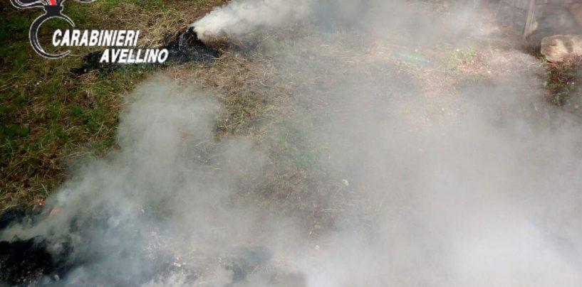 Appicca fuoco per distruggere sterpaglie e residui vegetali, denunciato un 50enne
