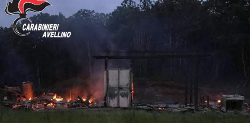 Maltempo: un fulmine incendia un capanno dei boy scout