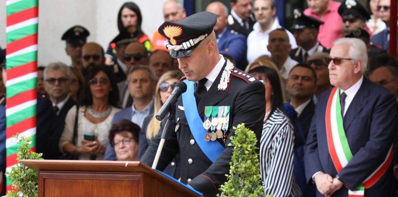 Festa dell'Arma, Cagnazzo commemora i caduti di tutte le appartenenze