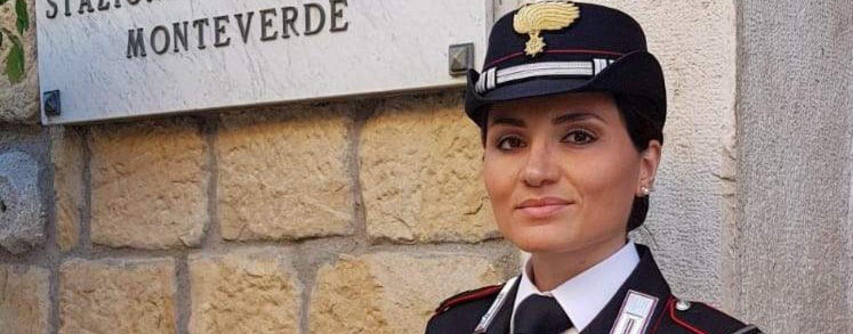 Monteverde, la comandante dei carabinieri Iacobone protagonista all'Eredità
