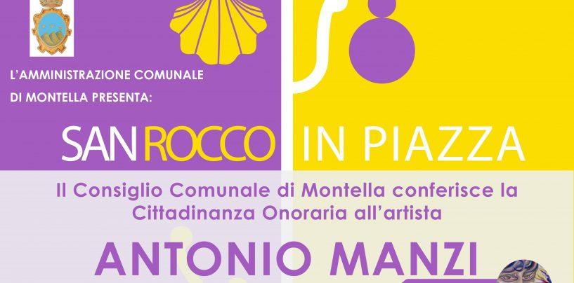 Montella, cittadinanza onoraria per l'artista Antonio Manzi